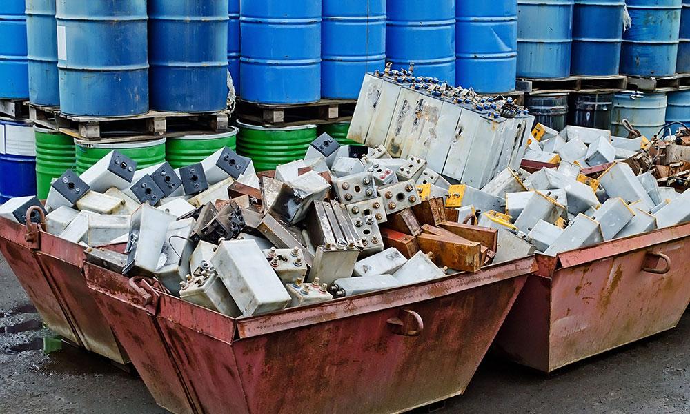 Prelievo trasporto e smaltimento rifiuti